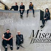 Creeper, photographed for Upset Magazine, December 2017/January 2018