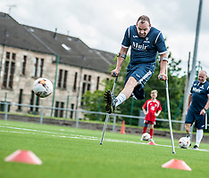 Scotland amputee football squad prepare for Europe | Glasgow | 18 June 2017