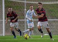 Victor Christiansson (Frem) under kampen i 2. Division mellem FC Helsingør og Boldklubben Frem den 27. september 2019 på Helsingør Ny Stadion (Foto: Claus Birch).