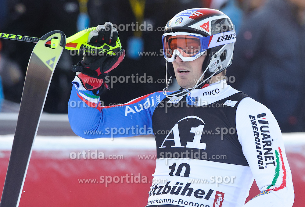 23.01.2011, Hahnenkamm, Kitzbuehel, AUT, FIS World Cup Ski Alpin, Men, Slalom, im Bild // Manfred Moelgg (ITA) // during the men slalom race at the FIS Alpine skiing World cup in Kitzbuehel, EXPA Pictures © 2011, PhotoCredit: EXPA/ S. Zangrando