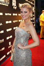 07.09.2013, Stadthalle Aschaffenburg, Aschaffenburg, GER, Night of the Stars, Galanacht mit Showacts, im Bild Jenny Knaeble (Moderatorin RTL),, ,  // during the gala night of the Night of the Stars at the cityhall in Aschaffenburg, Germany on 2013/09/07. EXPA Pictures © 2013, PhotoCredit: EXPA/ Eibner/ Bildpressehaus<br /> <br /> ***** ATTENTION - OUT OF GER *****
