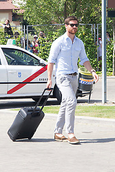 01.06.2012, Ciudad del Futbol, Madrid, ESP, UEFA EURO, Trainingscamp, Spanien, Rueckreise nach dem Trainingslager in Schruns im Vorarlberger Montafon, im Bild Xabier Alonso // during Arrival of Spanish National Footballteam // after UEFA EURO 2012 preparation camp in Schruns, Austria at Ciudad del Futbol, Madrid, Spain on 2012/06/01. EXPA Pictures © 2012, PhotoCredit: EXPA/ Alterphotos/ Marta Gonzalez..***** ATTENTION - OUT OF ESP and SUI *****