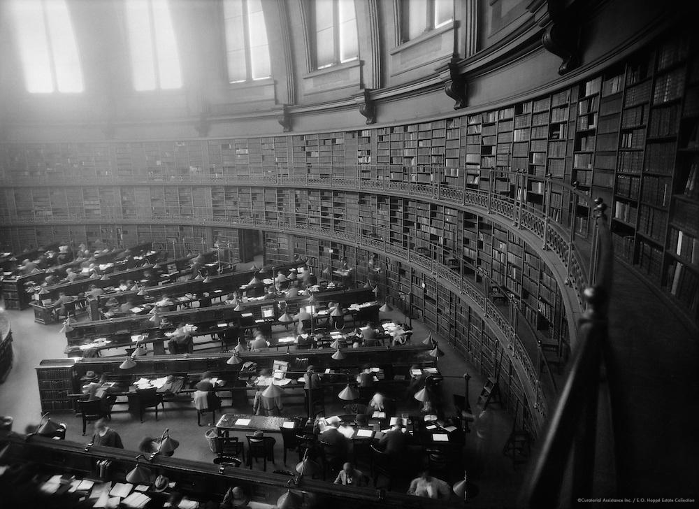 British Museum Reading Room, London, 1927