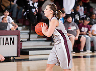 February 12, 2011: The Southern Nazarene University Crimson Storm play against the Oklahoma Christian University Lady Eagles at the Eagles Nest on the campus of Oklahoma Christian University.