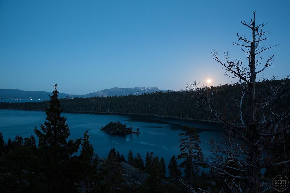 Full Moon over Emerald Bay | Scott Shots Photography ...