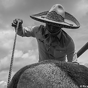 Rodeo en Tlaxiaco (BN) / Rodeo In Oaxaca (BW)