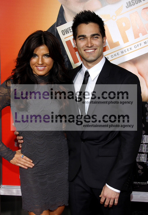 Rachel Smith and Tyler Hoechlin at the Los Angeles premiere of 'Hall Pass' held at the ArcLight Cinemas in Hollywood on February 23, 2011. Credit: Lumeimages.com