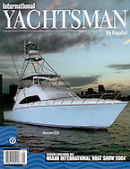 Magazine Cover - International Yachtsman Bertram 630
