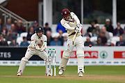 George Bartlett of Somerset batting during the Specsavers County Champ Div 1 match between Somerset County Cricket Club and Essex County Cricket Club at the Cooper Associates County Ground, Taunton, United Kingdom on 23 September 2019.