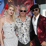 Ria Fend is a Actress, Paul McEvoy - Frightfest and  Naeem Mahmood is a director arrives at Tresor Paris In2ruders - launch at Tresor Paris, 7 Greville Street, Hatton Garden, London, UK 13th September 2018.