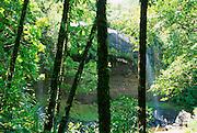 Ngardmau Waterfall, Babeldaob, Palau, Micronesia<br />