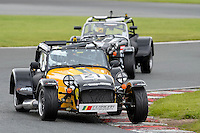 #21 Rui Ferreira Caterham Roadsport during the Avon Tyres Caterham Roadsport Championship at Oulton Park, Little Budworth, Cheshire, United Kingdom. August 13 2016. World Copyright Peter Taylor/PSP.