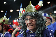 Fan of France during the EHF 2018 Men's European Championship, 1/2 final Handball match between France and Spain on January 26, 2018 at the Arena in Zagreb, Croatia - Photo Laurent Lairys / ProSportsImages / DPPI