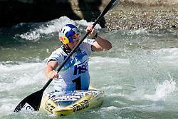 Peter Kauzer of Slovenia competes in the Men's Kayak K-1 at ICF Canoe Slalom World Championships - Sloka 2010 on September 12, 2010 in Tacen, Ljubljana, Slovenia (Photo by Matic Klansek Velej / Sportida)