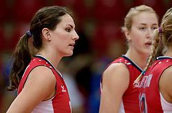 24-09-2014 ITA: World ChampionshipVolleyball Kazachstan - USA, Verona<br /> USA wint met 3-0 / Kelly Murphy