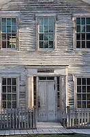 Exterior of Mason's lodge and schoolhouse, Bannack State Park Montana