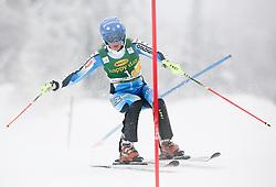 PIETILAE-HOLMNERMaria of Sweden competes during 1st Run of 50th Golden Fox Audi Alpine FIS Ski World Cup Ladies Slalom, on February 2, 2014 in Podkoren, Kranjska Gora, Slovenia. (Photo By Matic Klansek Velej / Sportida.com)