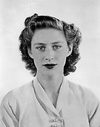 A portrait of Princess Margaret