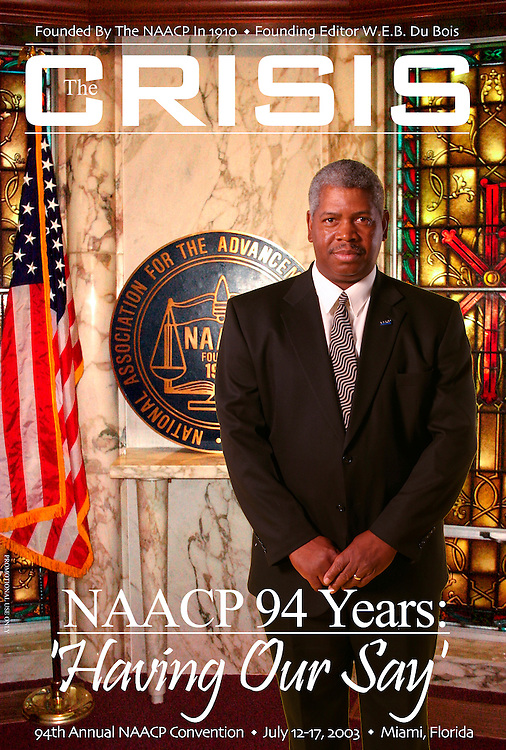 Promotional cover shot for the NAACP's magazine, Crisis