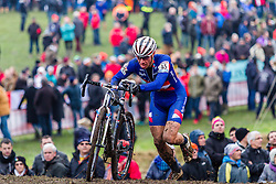 Jeremy Powers (USA), Men Elite, Cyclo-cross World Cup Hoogerheide, The Netherlands, 25 January 2015, Photo by Thomas van Bracht / PelotonPhotos.com