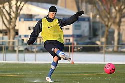 01.02.2012, Trainingsgelaende Wildparkstadion, Karlsruhe, GER, 2.FBL, Karlsruher SC, Training, im Bild Sebastian SCHIEK (Karlsruher SC)/ Freisteller. EXPA Pictures © 2012, PhotoCredit: EXPA/ Eibner/ Güngoer ATTENTION - OUT OF GER *****