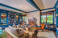 Home designed by architect Daniel Romualdez, interior design by Muriel Brandolini, Deerfield Rd, Sag Harbor, NY