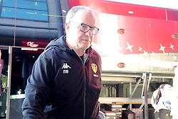 Leeds United manager Marcelo Bielsa arrives for the Sky Bet Championship match at The Riverside Stadium, Middlesbrough.