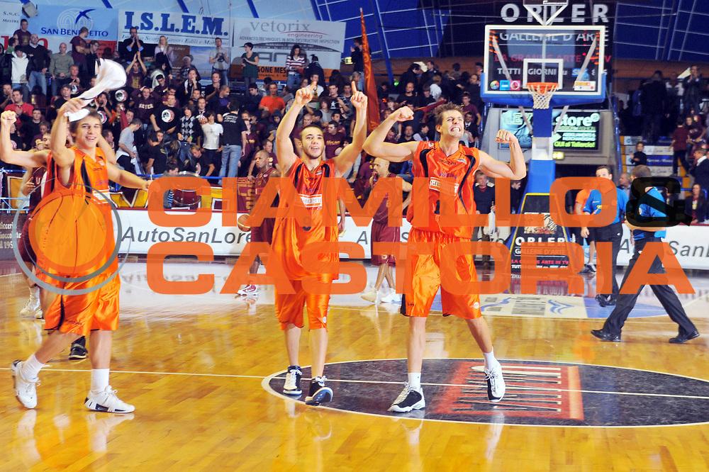 DESCRIZIONE : Venezia Lega A2 2009-10 Umana Reyer Venezia Snaidero Udine<br /> GIOCATORE :  Luigi Dordei<br /> SQUADRA : Snaidero Udine <br /> EVENTO : Campionato Lega A2 2009-2010<br /> GARA : Umana Reyer Venezia Snaidero Udine<br /> DATA : 18/10/2009<br /> CATEGORIA : Esultanza<br /> SPORT : Pallacanestro <br /> AUTORE : Agenzia Ciamillo-Castoria/M.Gregolin