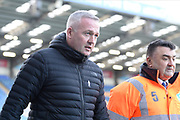 Ipswich Town manager Paul Lambert arrives ahead of the EFL Sky Bet League 1 match between Portsmouth and Ipswich Town at Fratton Park, Portsmouth, England on 21 December 2019.