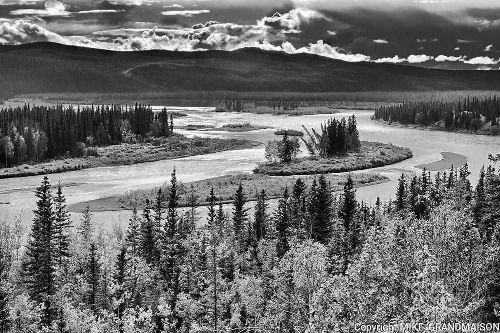 Yukon River<br />Five Finger Rapids Territorial Recreation Site<br />Yukon<br />Canada