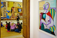 France, Paris (75), Musee Picasso, La Lecture 1932 // France, Paris, Picasso museum, Reading, 1932