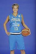 DESCRIZIONE : Venezia Additional Qualification Round Eurobasket Women 2009 Posati Nazionale Femminile<br /> GIOCATORE : Manuela Zanon<br /> SQUADRA : Nazionale Italia Donne<br /> EVENTO : <br /> GARA : <br /> DATA : 04/01/2009<br /> CATEGORIA : Ritratto<br /> SPORT : Pallacanestro<br /> AUTORE : Agenzia Ciamillo-Castoria/M.Gregolin