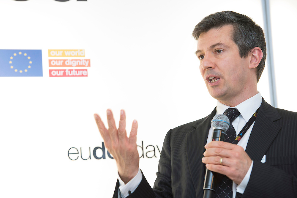 03 June 2015 - Belgium - Brussels - European Development Days - EDD - Urban - Facing up to Africa's demographic revolution - Regional approach to bridging the urban - rural divide - Henri-Bernard Solignac-Lecomte , Head of Europe , Middle-East and Africa desk , OECD Development Centre © European Union