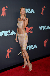 August 26, 2019, New York, New York, United States: Bella Hadid arriving at the 2019 MTV Video Music Awards at the Prudential Center on August 26, 2019 in Newark, New Jersey  (Credit Image: © Kristin Callahan/Ace Pictures via ZUMA Press)