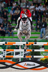 Abdel Said, (EGY), Vingino - Team & Individual Competition Jumping Speed - Alltech FEI World Equestrian Games™ 2014 - Normandy, France.<br /> © Hippo Foto Team - Leanjo De Koster<br /> 02-09-14