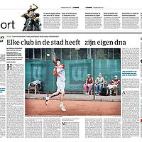 Parool 24 mei 2013:<br /> Elke club in de stad heeft zijn eigen dna.