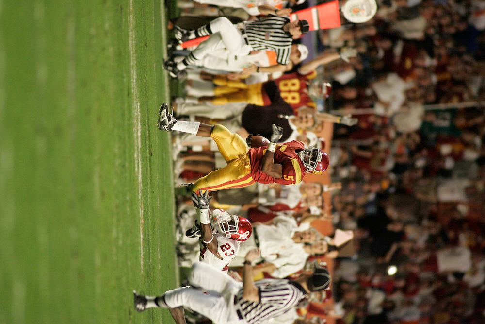 2005 ORANGE BOWL - Oklahoma vs Southern California (USC)