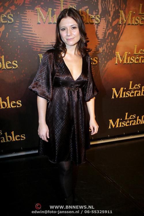 NLD/Amsterdam/20080221 - Perspresentatie Les Misérables, Celine Purcell