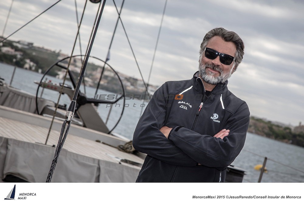 Joan Girones.MenorcaMaxi 2015. Wally and Maxi 72 regatta in Menorca, Spain, May 2015. All images ©Jesus Renedo / Consell Insular de Menorca