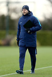 Tottenham Hotspur manager Mauricio Pochettino during the training session at Tottenham Hotspur Football Club Training Ground, London.