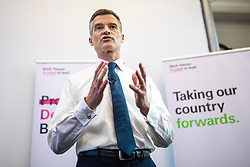 © Licensed to London News Pictures. 11/06/2019. London, UK. Mark Harper MP, who is running to be Leader of the Conservative Party and the next Prime Minister,speaks at the official launch event for his leadership campaign. Photo credit: Rob Pinney/LNP