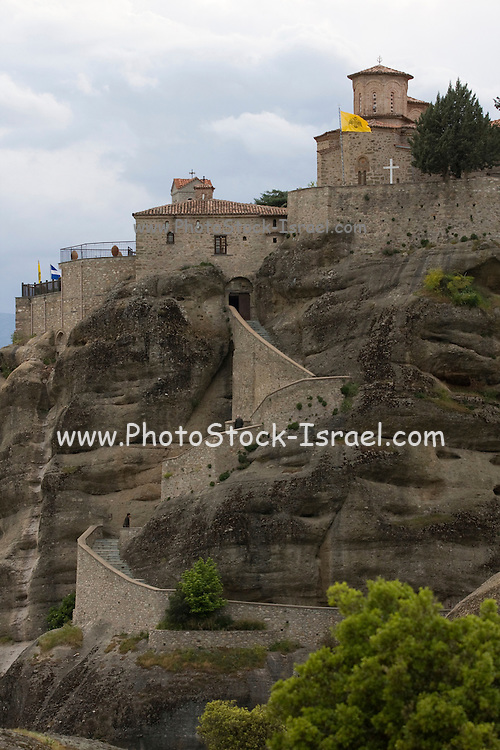 Greece, Thessaly, Meteora, Varlaam Monastery