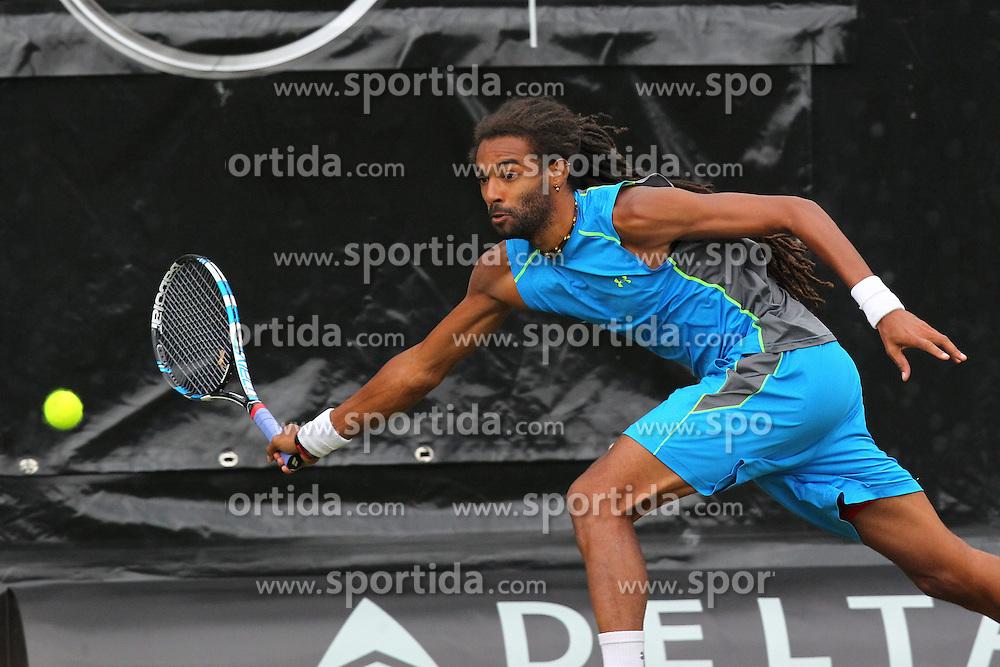 09.06.2015, Tennis Club Weissenhof, Stuttgart, GER, ATP Tour, Mercedes Cup Stuttgart, im Bild Dustin Brown ( GER ) // during the Mercedes Cup of ATP world Tour at the Tennis Club Weissenhof in Stuttgart, Germany on 2015/06/09. EXPA Pictures &copy; 2015, PhotoCredit: EXPA/ Eibner-Pressefoto/ Langer<br /> <br /> *****ATTENTION - OUT of GER*****