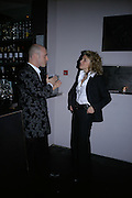 Paul Bennun and Ilaria Benucci, The Entertainer - press night at the Old Vic afterparty at The Baltic,  Blackfriars Road, London, SE1.  50th anniversary production of John Osborne play. 7 March 2007. -DO NOT ARCHIVE-© Copyright Photograph by Dafydd Jones. 248 Clapham Rd. London SW9 0PZ. Tel 0207 820 0771. www.dafjones.com.
