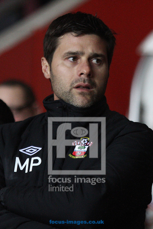 Picture by Daniel Chesterton/Focus Images Ltd +44 7966 018899.21/01/2013.Southampton manager Mauricio Pochettino before the Barclays Premier League match at the St Mary's Stadium, Southampton.