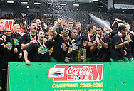 Norwich City - Saturday May 8 2010: Norwich City play celebrate winning the championship league after thier match lose against Carlisle at Carrow Road, Norwich. (Pic by Rob Colman Focus Images)
