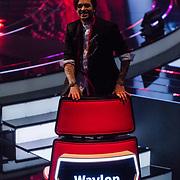 NLD/Hilversum/20180216 - Finale The voice of Holland 2018, Waylon