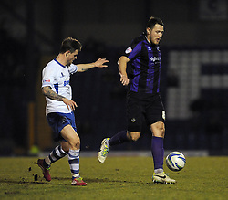 Bristol Rovers' Tom Parkes - Photo mandatory by-line: Dougie Allward/JMP - Mobile: 07966 386802 01/04/2014 - SPORT - FOOTBALL - Bury - Gigg Lane - Bury v Bristol Rovers - Sky Bet League Two