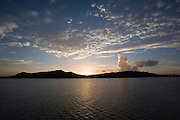Sunset, Bora Bora, French Polynesia<br />