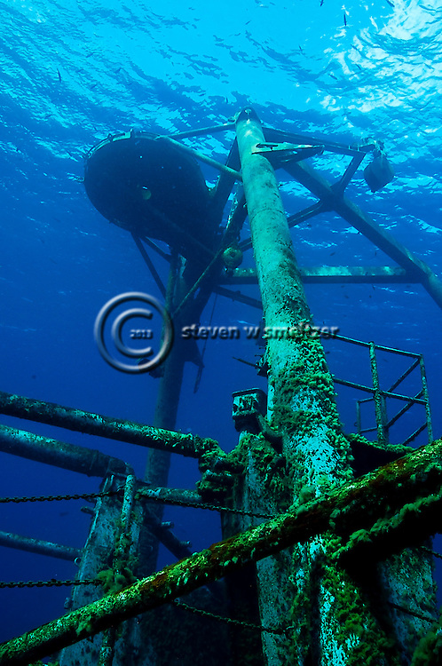 Cable Tower, USS Kittiwake, Grand Cayman